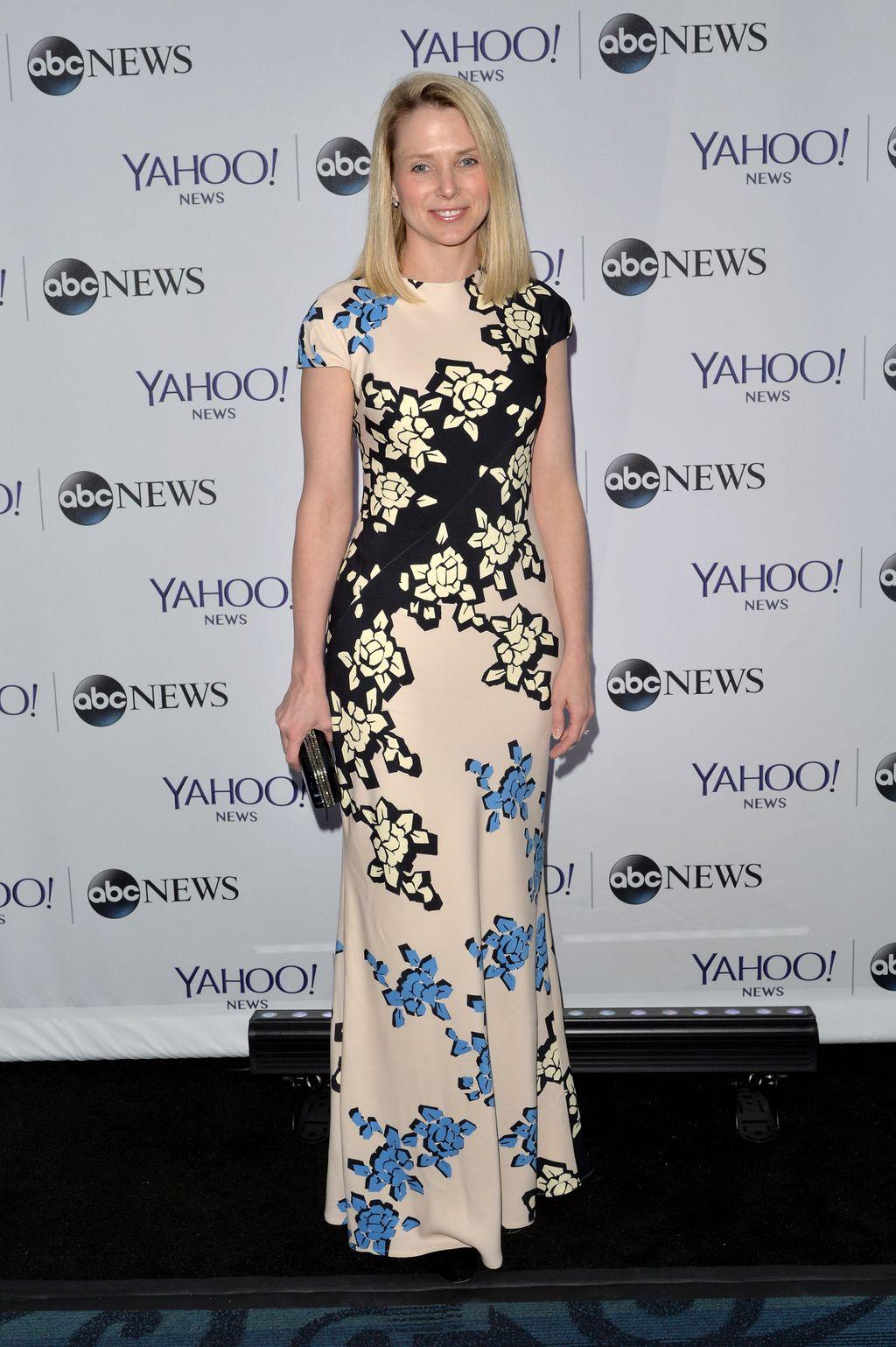 Marissa Mayer, wanita dengan paras cantik ini, resmi ditunjuk sebagai Chief Executive Officer (CEO) Yahoo pada tahun 2012.(Foto: GettyImages)