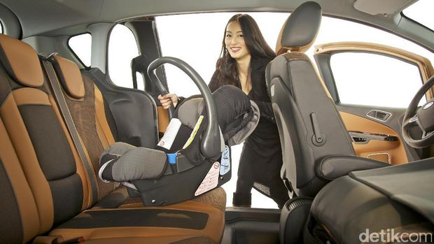 Memasang car seat dengan benar akan mengurangi risiko cedera anak saat kecelakaan