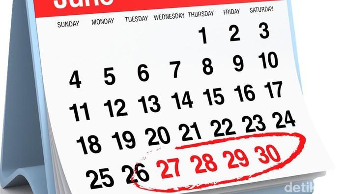 Ilustrasi kalender (Fuad Hasim/detikcom)