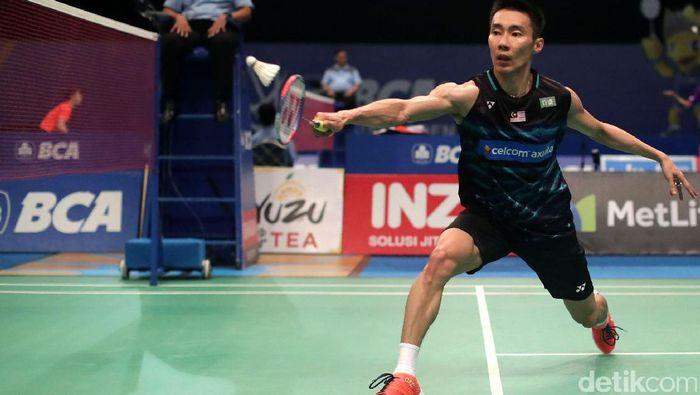 Lee Chong Wei tersingkir di babak kedua Indonesia Open 2017. Foto: Grandyos Zafna/detikSport