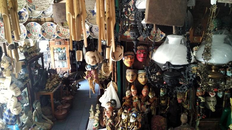 Suasana Pasar Triwindu di Solo (Wahyu/detikTravel)