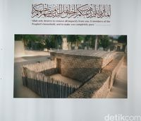 Diorama rumah Nabi Muhammad SAW