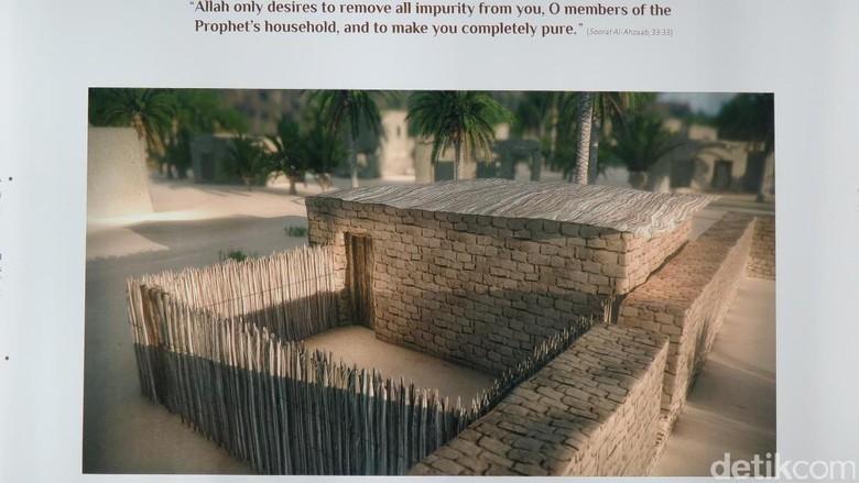 Bentuk rumah Nabi Muhammad (Fitraya/detikTravel)
