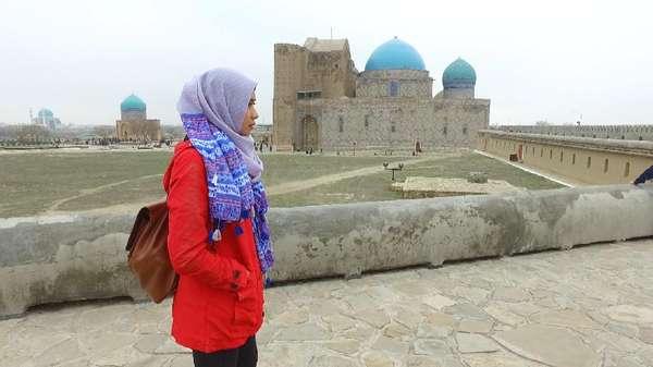 Sehari Dalam Kehangatan Keluarga Muslim Desa Mayakum Kazakhstan
