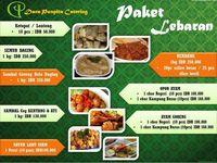 Menu katering Lebaran