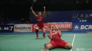 Indonesia Loloskan Empat Wakil ke Perempatfinal