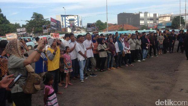 Keluarga Polri Aksi di Kampung Melayu, Minta RUU Terorisme Disahkan