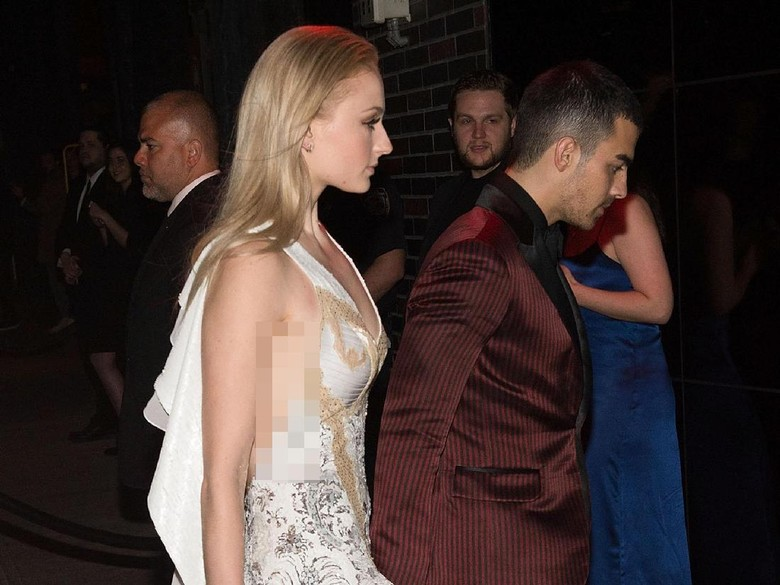Foto: Sophie Turner dan Joe Jonas (Daniel Zuchnik/Getty Images)