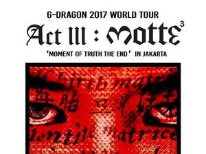 <i>Whats Up</i> Jakarta! G-Dragon Sapa Penggemar Jelang Konser di Indonesia