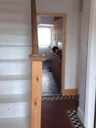 Dapur pribadi untuk babysitter di rumah yang terkenal berhantu itu. Foto: Dok. Childcare