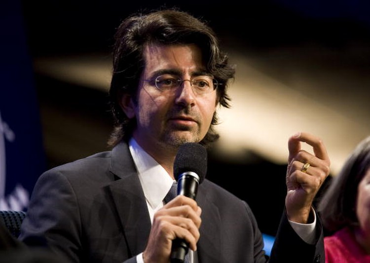 NEW YORK, NY - SEPTEMBER 23:  eBay founder Pierre Omidyar speaks during the panel session Democracy and Voice: Technology For Citizen Empowerment and Human Rights during the annual Clinton Global Initiative (CGI) on September 23, 2010 in New York City. The sixth annual meeting of the CGI gathers prominent individuals in politics, business, science, academics, religion and entertainment to discuss global issues such as climate change and the reconstruction of Haiti. The event, founded by Clinton after he left office, is held the same week as the General Assembly at the United Nations, when most world leaders are in New York City.  (Photo by Brian Harkin/Getty Images)