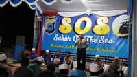 Cegah Radikalisme, Polres Kotabaru Gelar Sahur On the Sea
