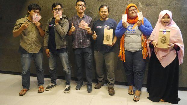 Foto-foto para pemenang voucher (Kurnia/detikTravel)