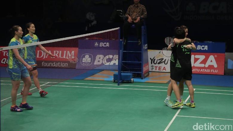 Chen Qingchen/Jia Yifan Juara Ganda Putri Indonesia Open 2017