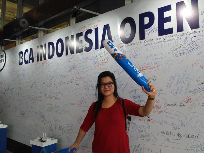 Penonton Indonesia Open 2017.
