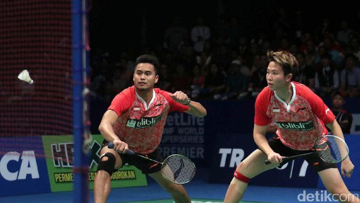 Tontowi Ahmad/Liliyana Natsir menjadi harapan untuk menjadi juara dunia lagi. (Grandyoz Zafna/detikSport)