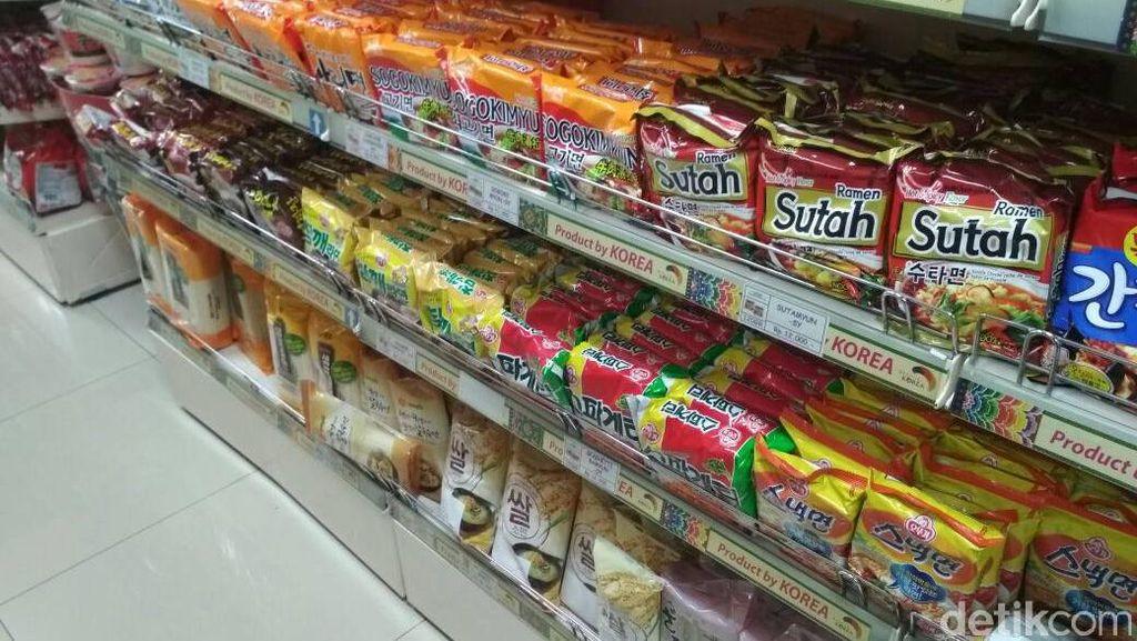 RI Impor Mie Instan, Paling Banyak dari Korea dan China