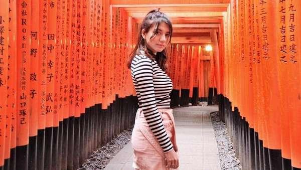 Intip Liburan Cassandra Lee di Jepang Yuk!