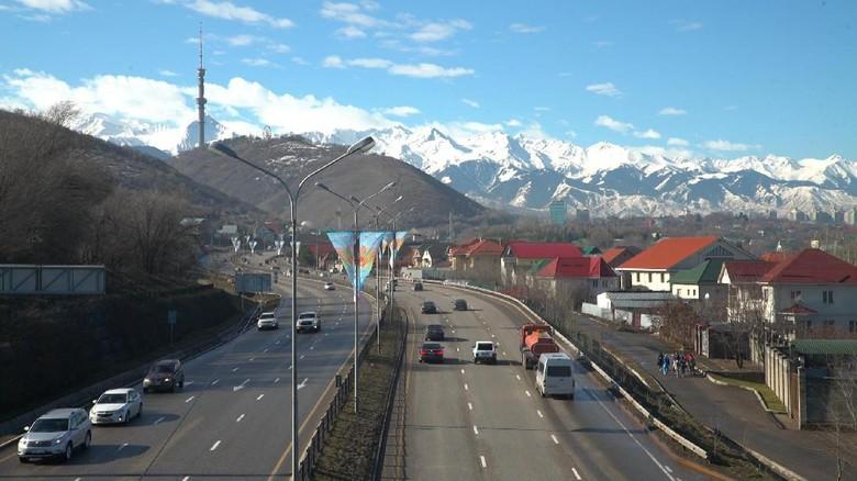 Almaty, kota terbesar di Kazakhstan (Hilman/TRANS7)