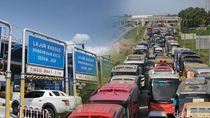 Kemacetan di Tol Japek Sejak Malam Tadi Mulai Terurai