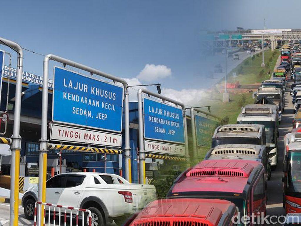 Arus Balik, Tol Purbaleunyi ke Jakarta Macet 4 Km