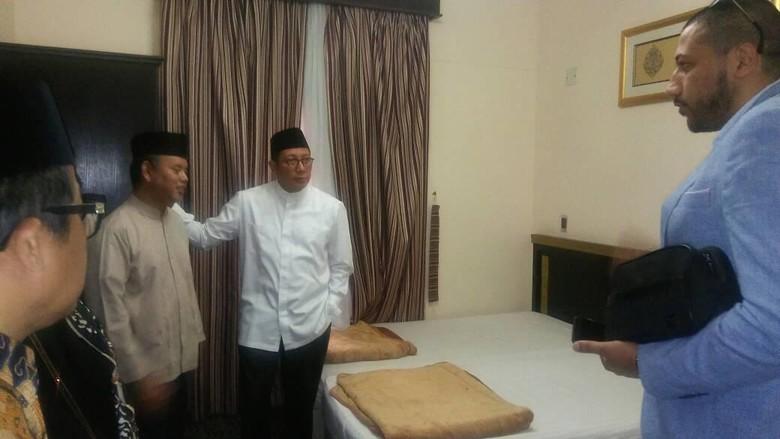 Menag Cek Fasilitas Jemaah di Madinah, dari Hotel hingga Katering
