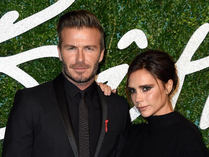 David dan Victoria Beckham dikabarkan akan bercerai. (Foto: Getty Images)