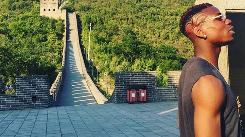 Dilihat dari postingan foto-foto Pogba di laman Instagram pribadinya @paulpogba, Senin (19/6/2017) dirinya sedang berada di China dalam promosi Adidas. Pogba pun menyempatkan diri datang ke berbagai destinasi di sana (@paulpogba/Instagram)