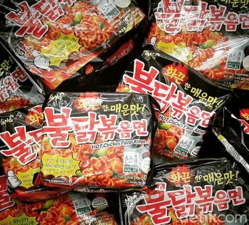 Samyang Kimchi mengandung babi
