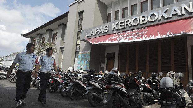 Lembaga Pemasyarakatan (Lapas) Kerobokan, Denpasar, Bali, Senin (19/6).