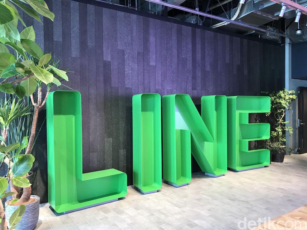 Kantor pusat Line berada di daerah Shinjuku, Tokyo, Jepang. Foto: detikINET/Adi Fida Rahman