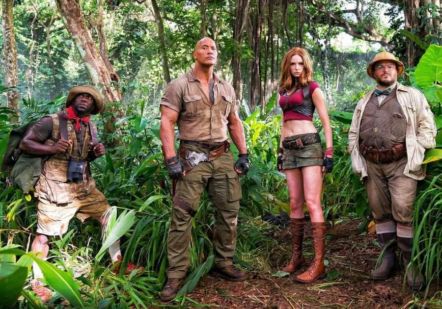 Lihat Adegan Keren Jumanji: Welcome to the Jungle