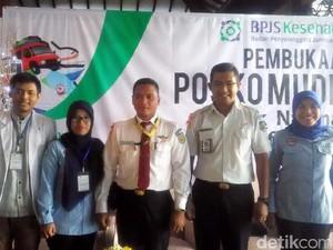 BPJS Kesehatan Buka Posko Mudik di Stasiun Tugu Yogya