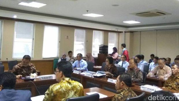 Sri Mulyani Datangi DPD, Paparkan Kerangka RAPBN 2018