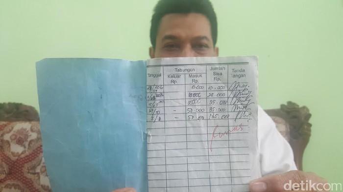 Kisah Tabungan Rosita Catatan Sekolah Tabungan Rosita Rp 135 Ribu