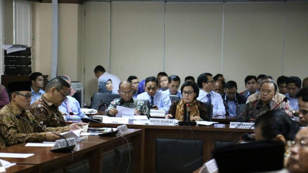Rapat dengan Menkeu, DPD Kritisi Dana Transfer Daerah