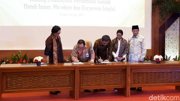 Imam Hingga Pengurus Masjid Istiqlal Kini Bisa Cicil Rumah DP 1%