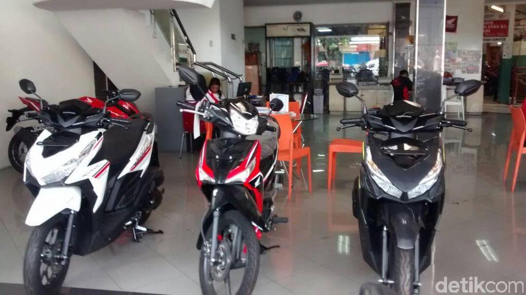 Kekeringan Pengaruhi Penjualan Motor Honda di Jateng
