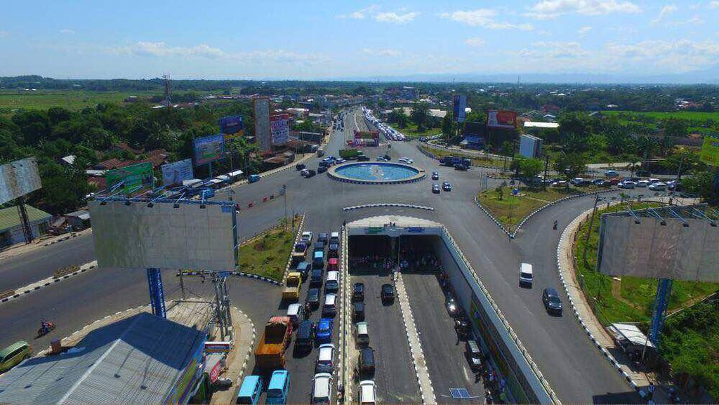 Underpass Simpang Mandai Dibuka untuk Mudik, Ini Penampakannya