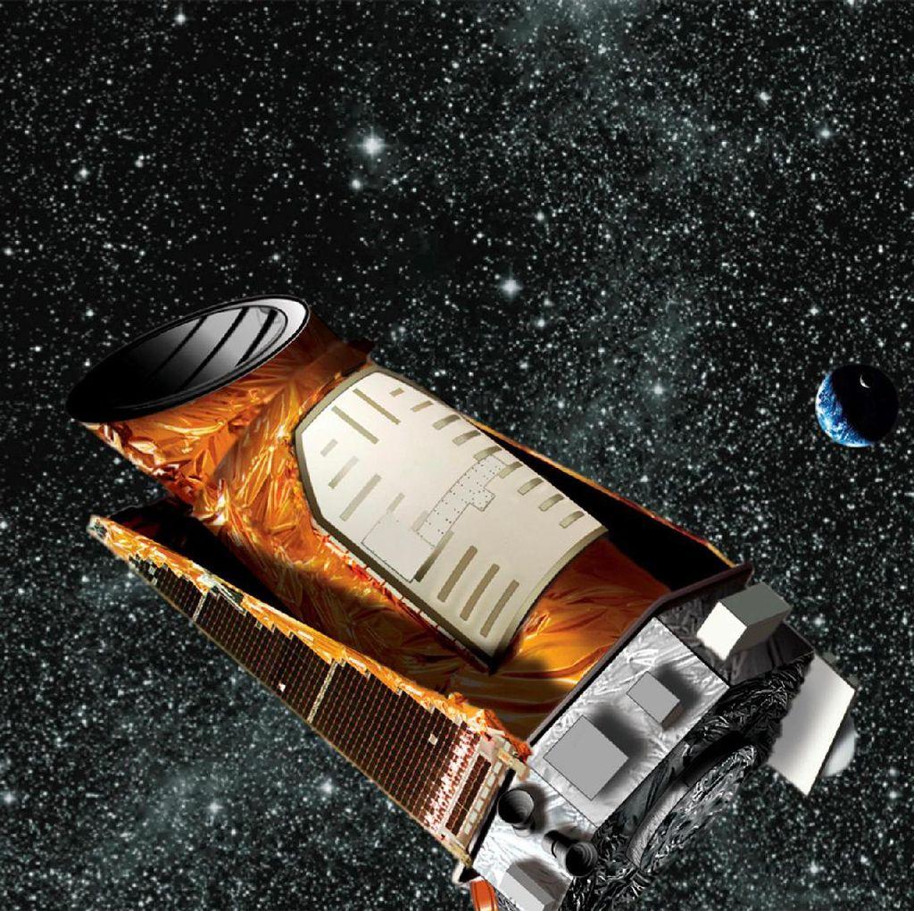 Teleskop NASA Penemu Ribuan Planet Pensiun