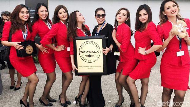 Rahasia AirAsia Bisa Jadi Maskapai Terbaik Dunia 9 Kali