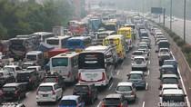 Polri: Masih Ada 10-20 Persen Kendaraan Belum Kembali ke Jakarta