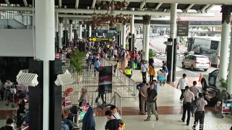 Suasana Bandara Soekarno Hatta (Ahmad Bil Wahid/detikcom)