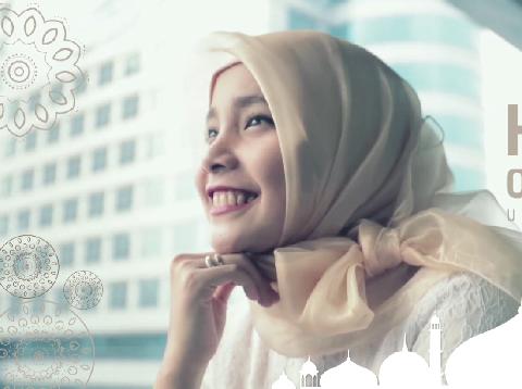 5 Tips Pakai Hijab Organza untuk Lebaran