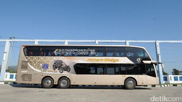 PT.  Putera Mulya Sejahtera kembali meluncurkan dua unit bus tingkat (Double Decker) Antar Kota Antar Provinsi. Kali ini jurusan yang dilayani menghubungkan Bogor, Solo dan berakhir di Wonogiri.