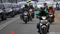 One Way dari Puncak ke Jakarta Diberlakukan, Lalin Ramai Lancar