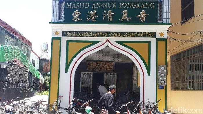 Masjid yang dibangun TKI di Taiwan (Pasti/detikcom)