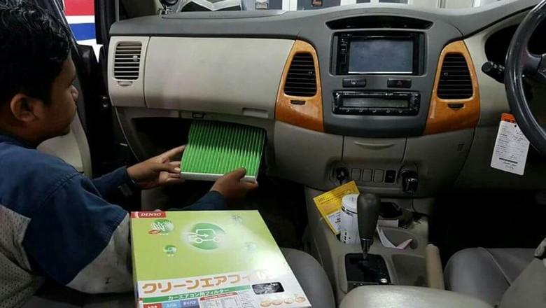 Perawatan AC mobil Foto: dok. Denso