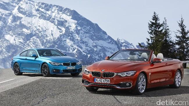 BMW Seri 4 Convertible (atap terbuka) dan Coupe (Foto: BMW)