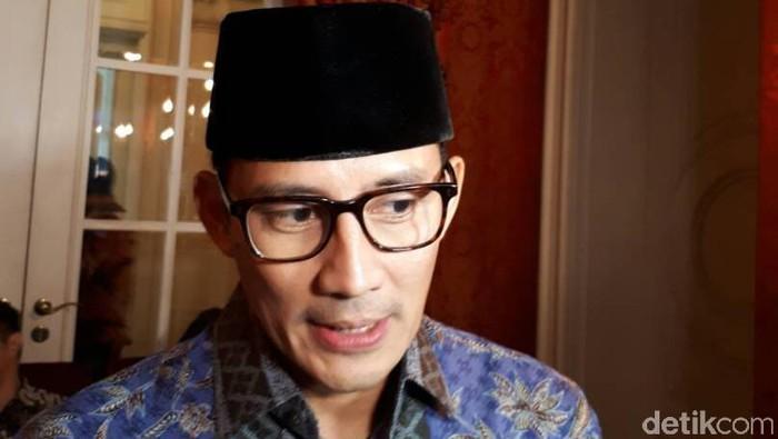 Waki Gubernur DKI terpilih, Sandiaga Uno